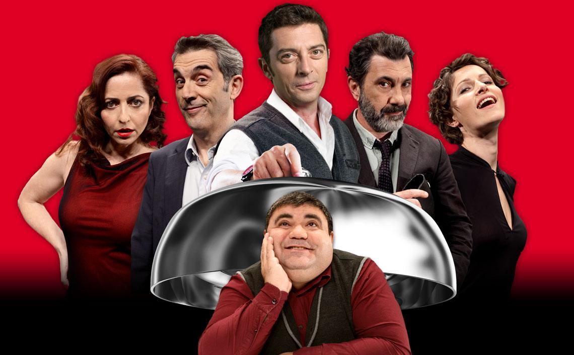 Paraules amb els actors de EL SOPAR DELS IDIOTES