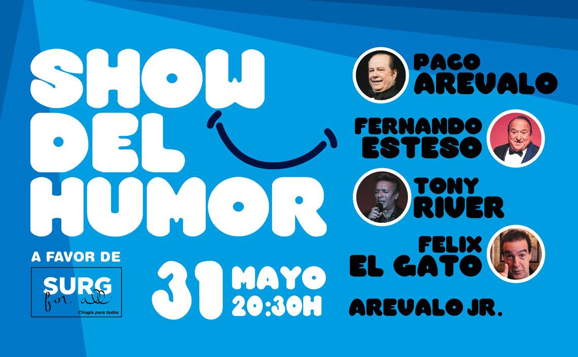 Show del Humor a favor de Surg For All