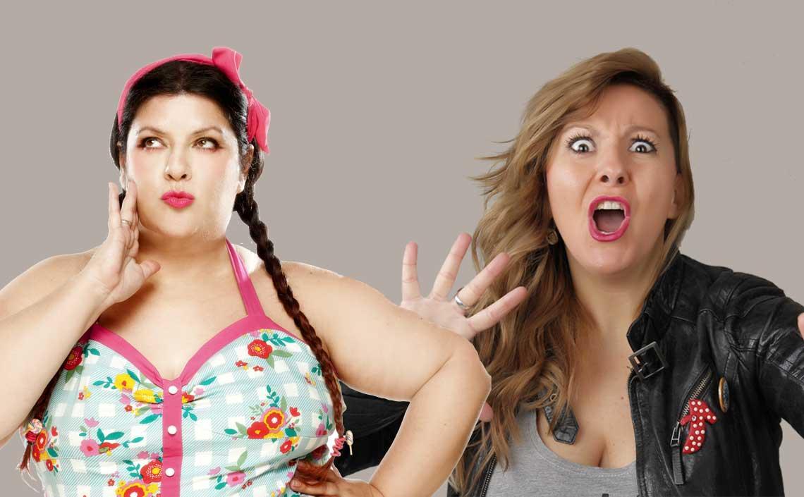 Coria Castillo y Chely Capitán