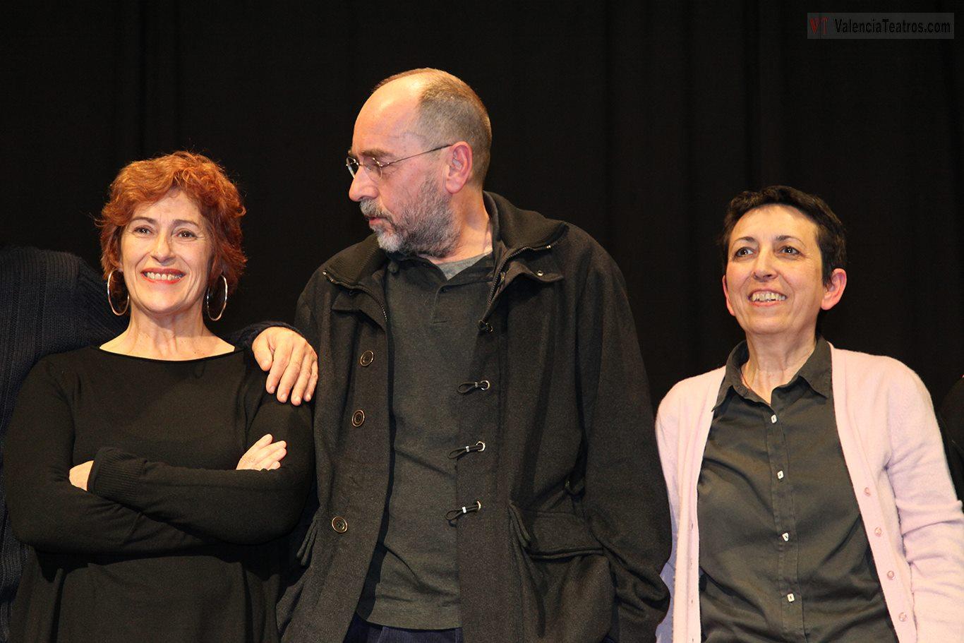 Pilar Almería, Carles Alfaro y Toni Picazo