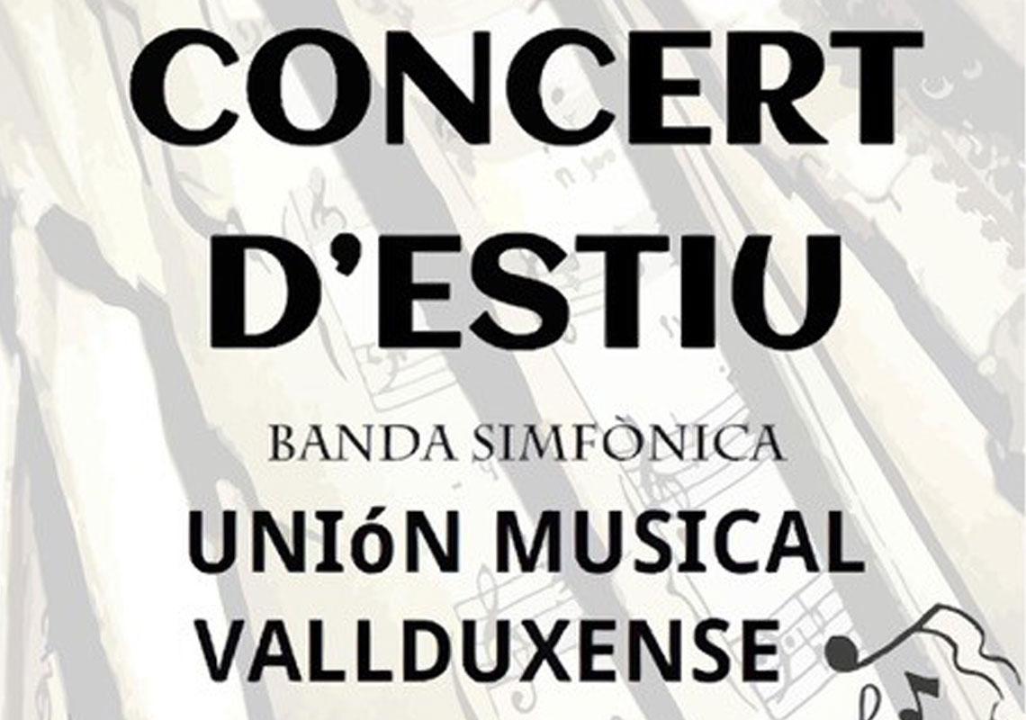 Conciert d'estiu Unió Musical Vallduxense