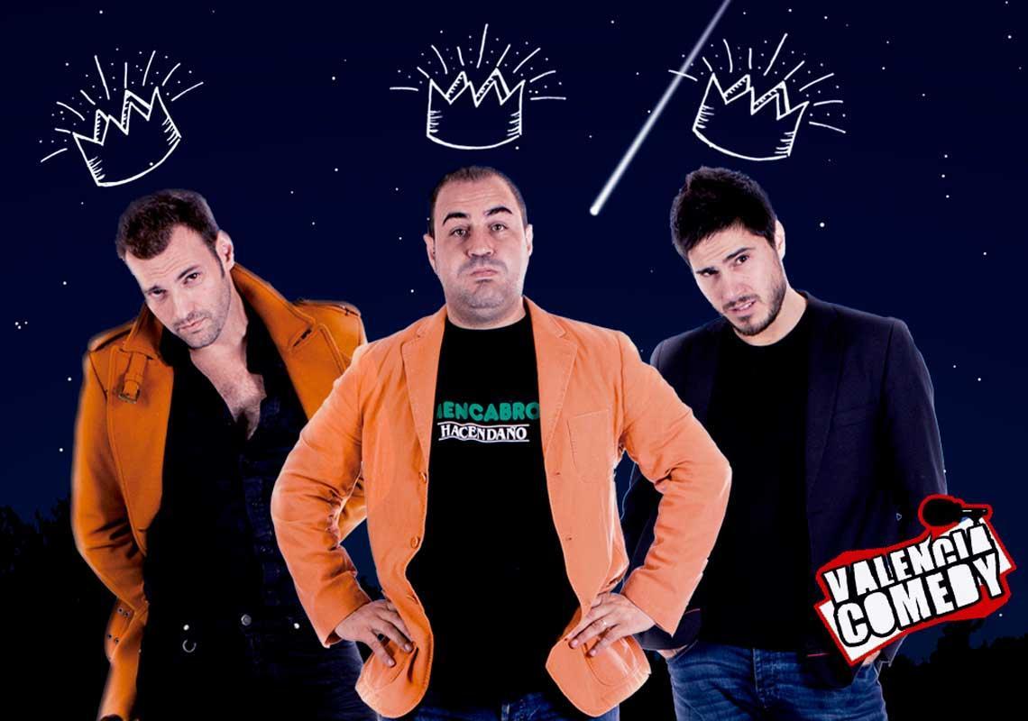Especial reyes Valencia Comedy