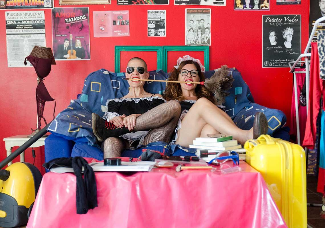 Patricia Sornosa y Patricia Espejo