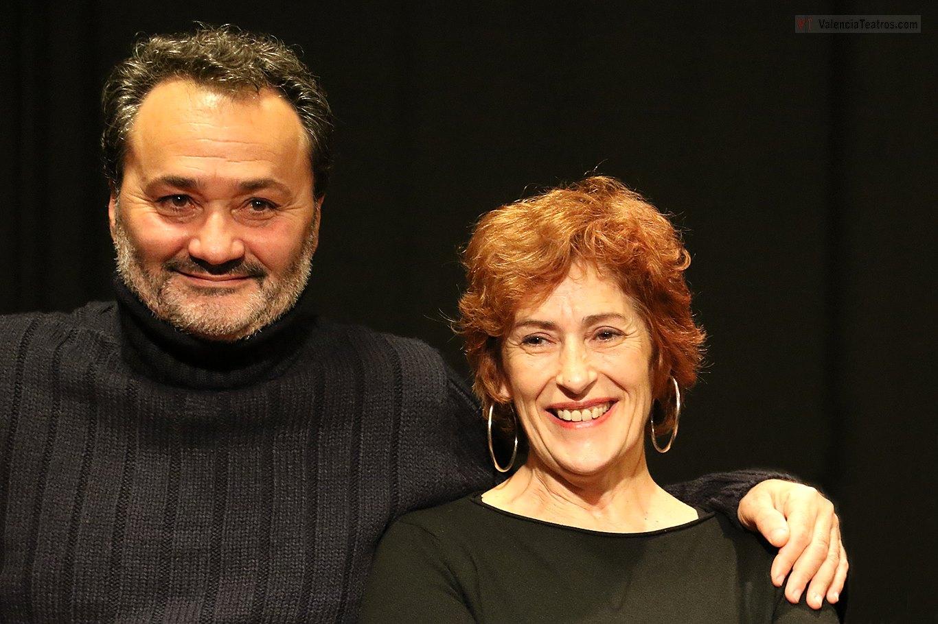 Francisco Sanguino y Pilar Almería