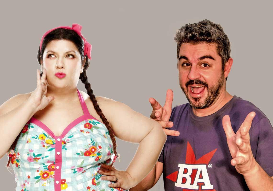 Coria Castillo y Rafa Forner