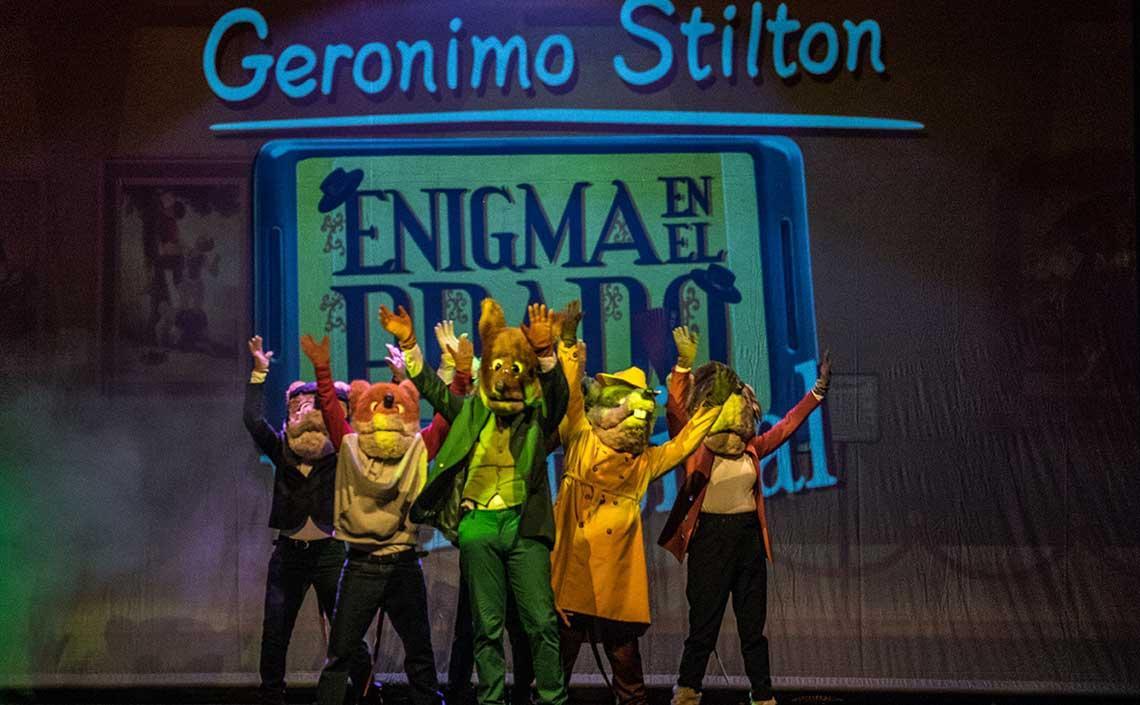 Gerónimo Stilton, enigma en el Prado. El Musical