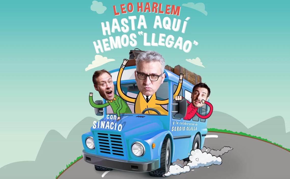 LEO HARLEM / HASTA AQUÍ HEMOS LLEGAO